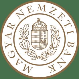 Das Logo der Ungarischen Nationalbank