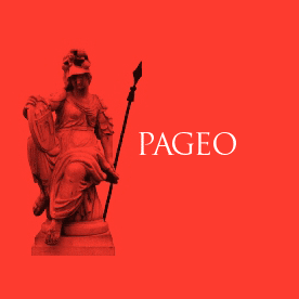 A Pallas Athéné Geopolitikai Alapítvány logója