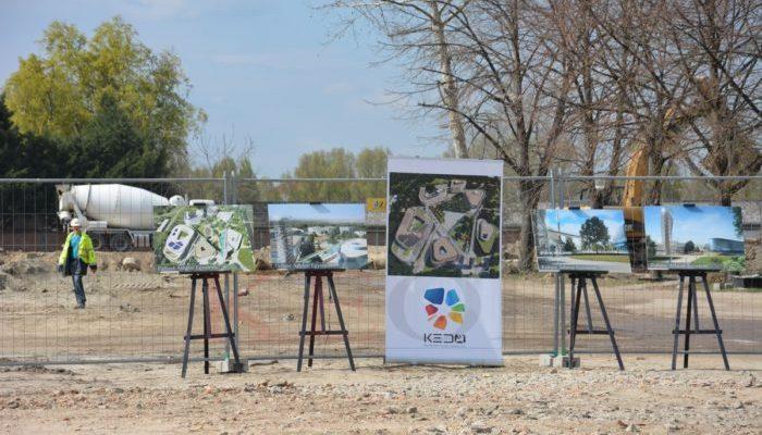 Megkezdődött a Pallasz Athéné Egyetem kecskeméti Campusának építése